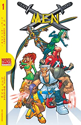 Marvel Mangaverse: X-Men (2002) #1