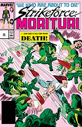 Strikeforce: Morituri (1986-1989) #30