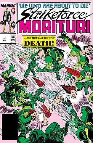 Strikeforce: Morituri (1986-1989) #30