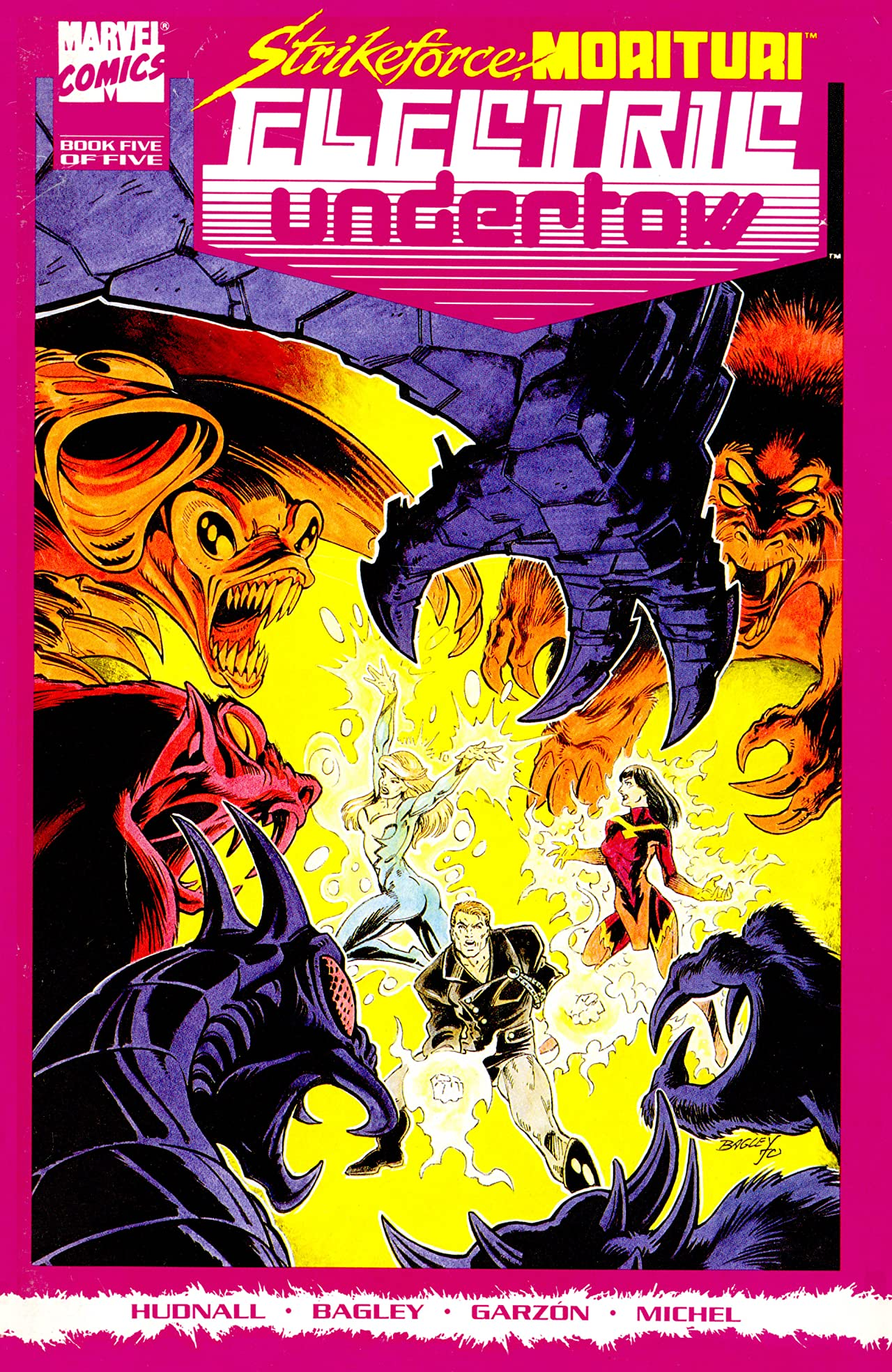 Strikeforce Morituri: Electric Undertow (1989-1990) #5