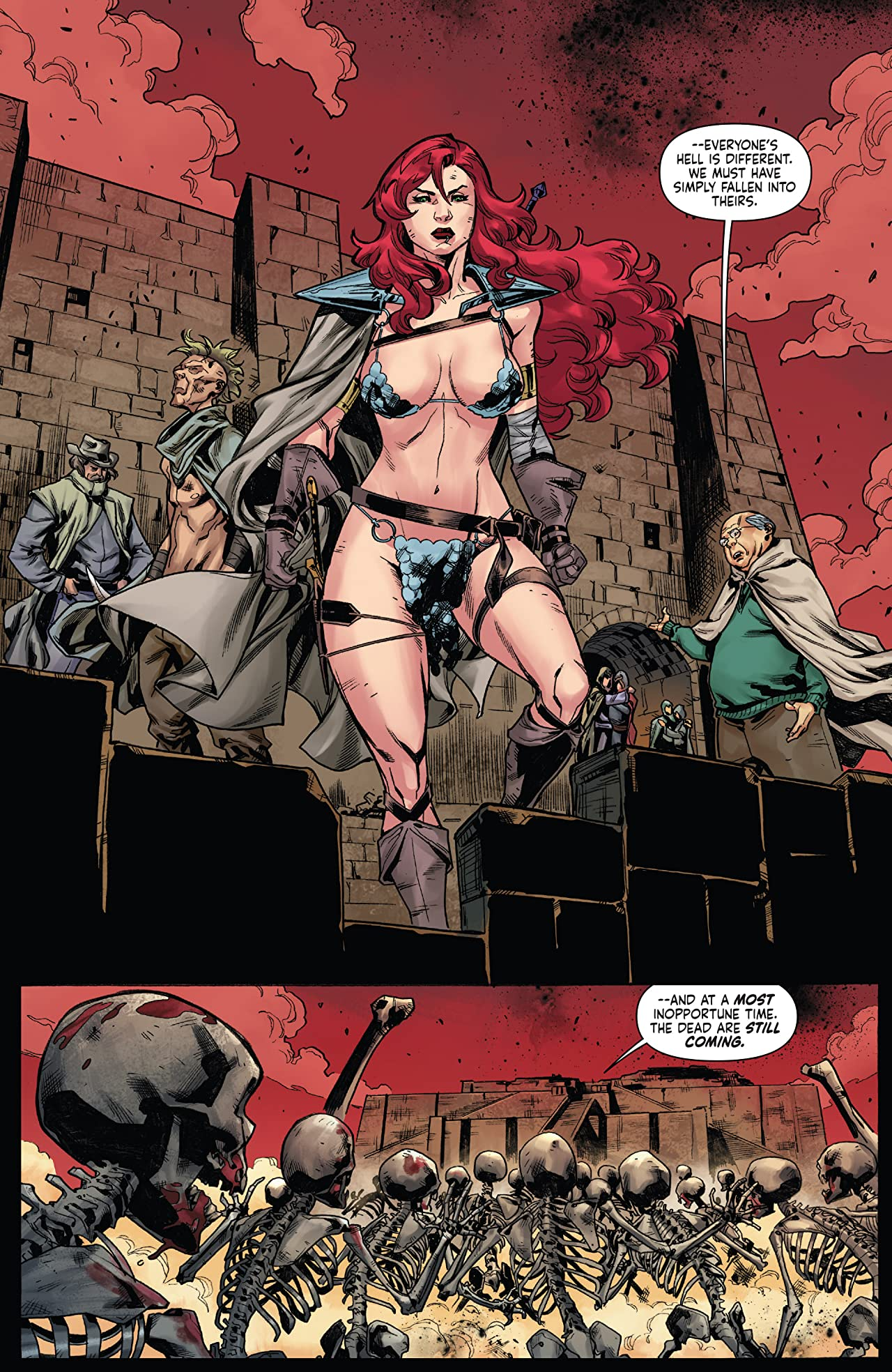 Red Sonja Vol. 4 #13