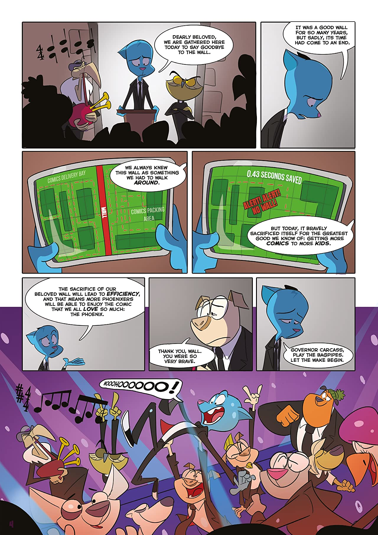 The Phoenix #306: The Weekly Story Comic