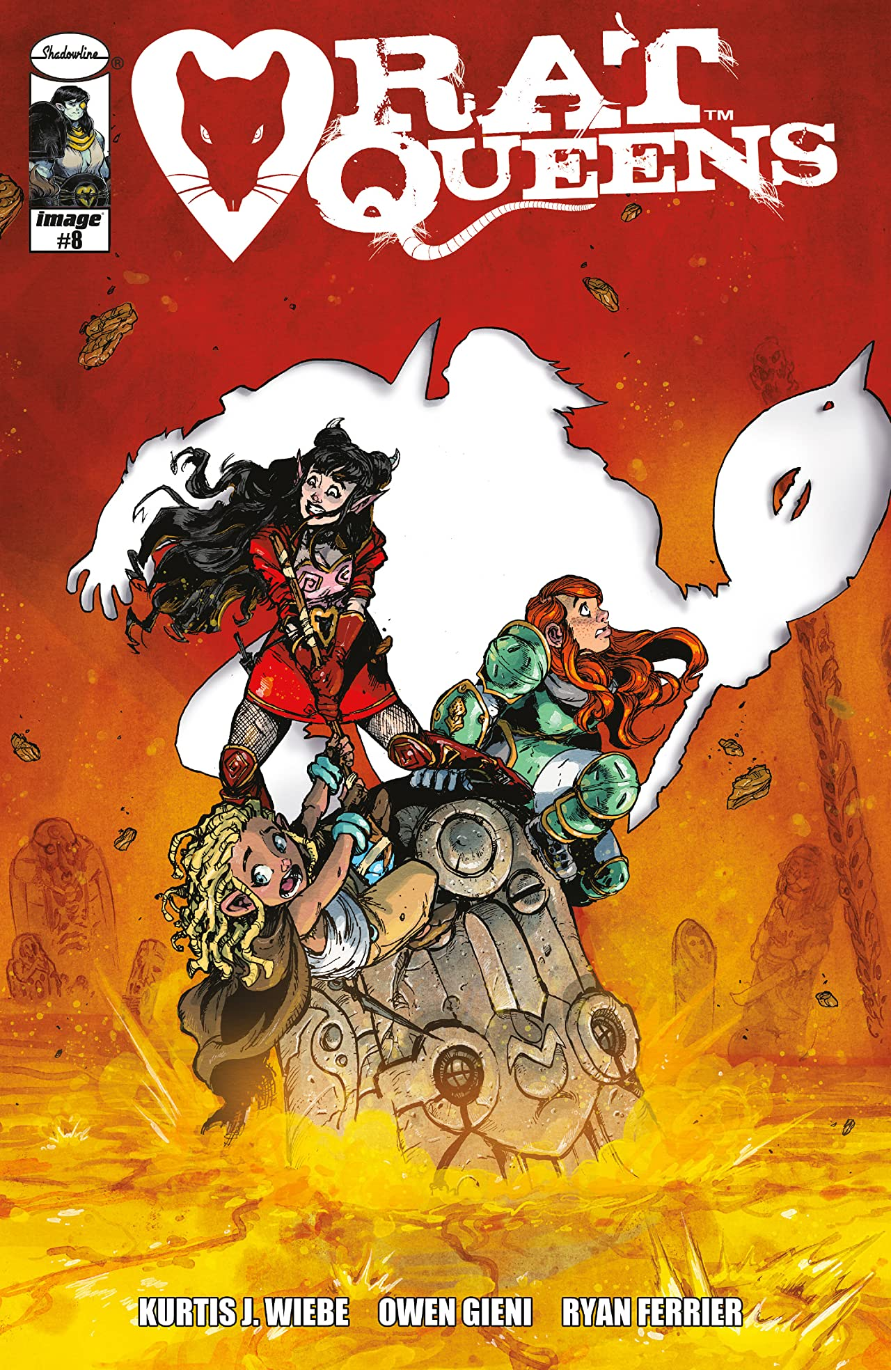 Rat Queens (2017-) No.8