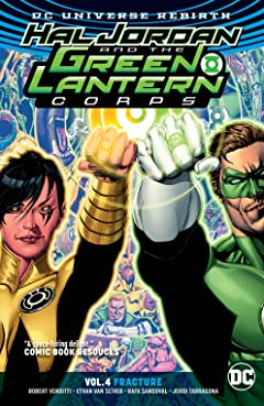 Hal Jordan and the Green Lantern Corps (2016-2018) Tome 4: Fracture