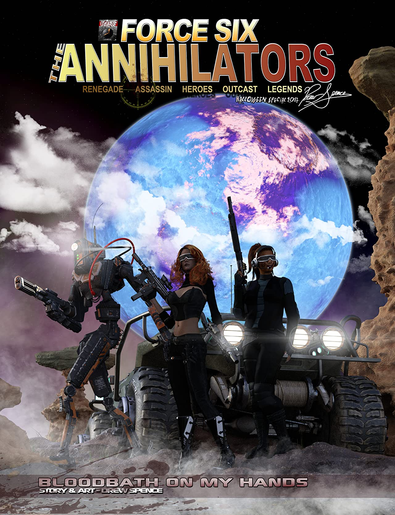 Force Six, The Annihilators: Bloodbath On My Hands