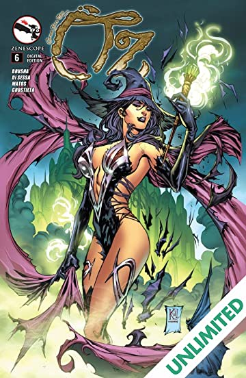 Grimm Fairy Tales: Oz #6 (of 6)