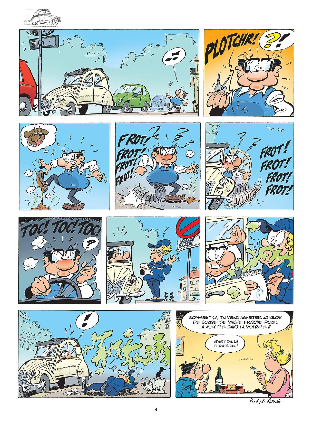Les Damnés de la route Vol. 10: Sortie de route pour la deuche !