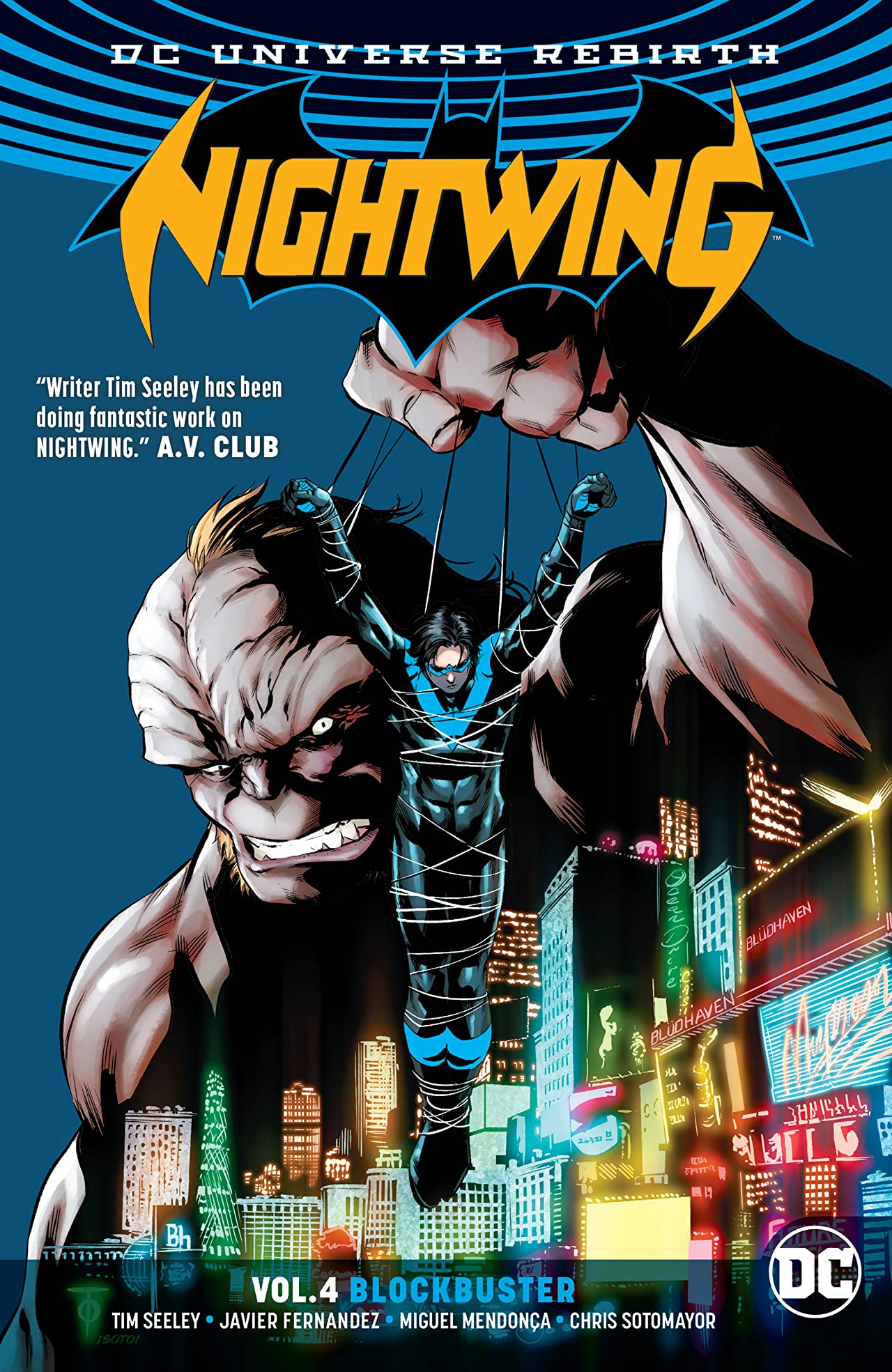 Nightwing (2016-) Vol. 4: Blockbuster