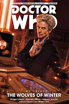 Doctor Who: The Twelfth Doctor - Time Trials Vol. 2: The Wolves of Winter