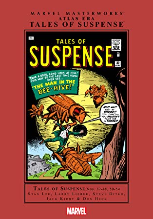 Atlas Era Tales Of Suspense Masterworks Vol. 4