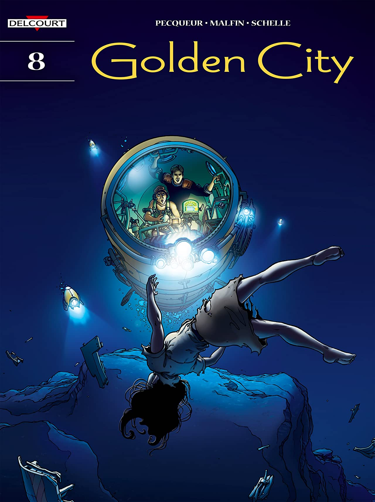 Golden City Vol. 8: Survivors of the Deep