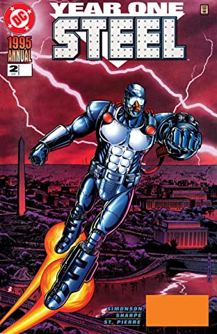 Steel (1994-1998) Annual #2