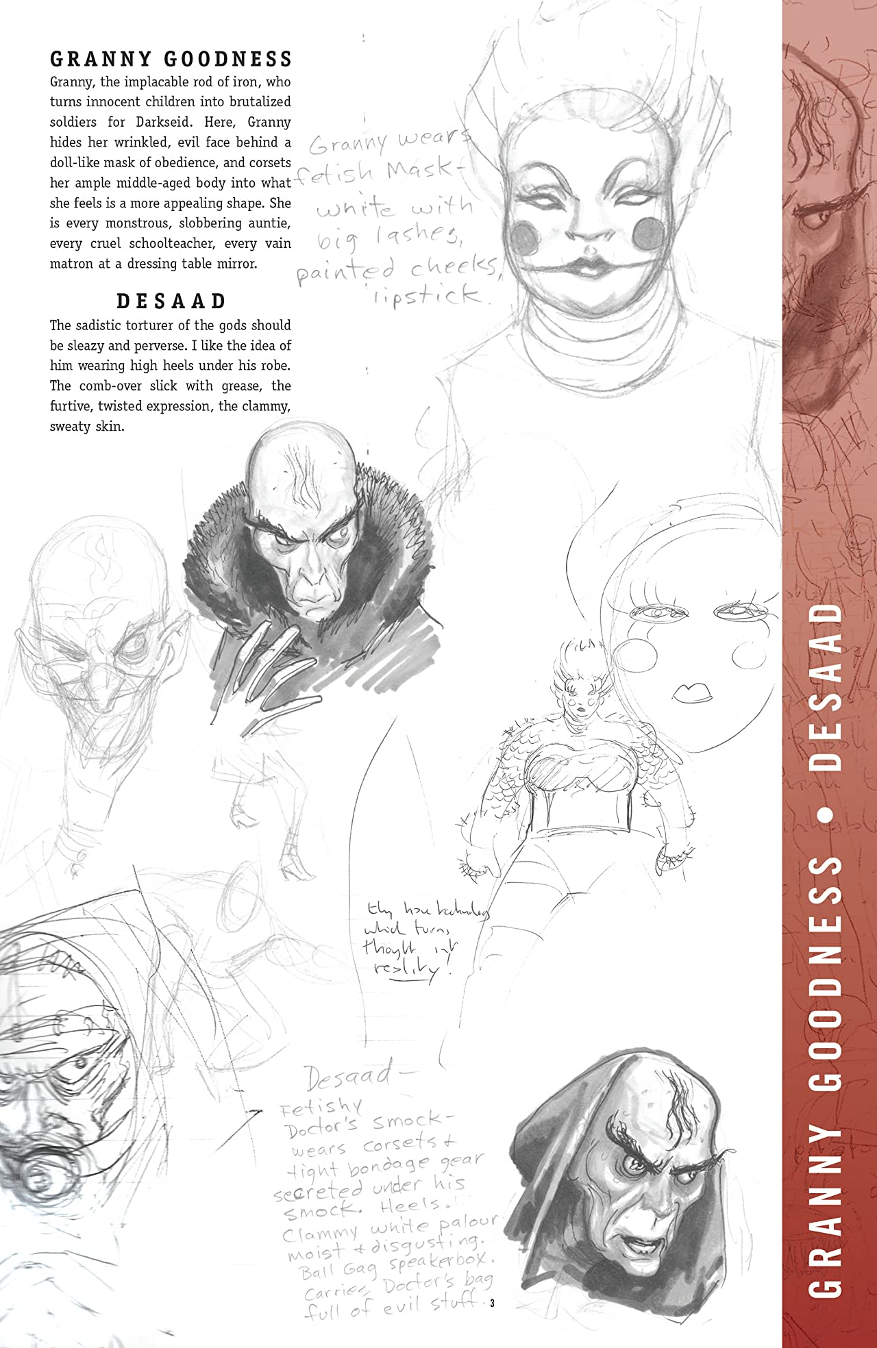 Final Crisis Sketchbook (2008) #1