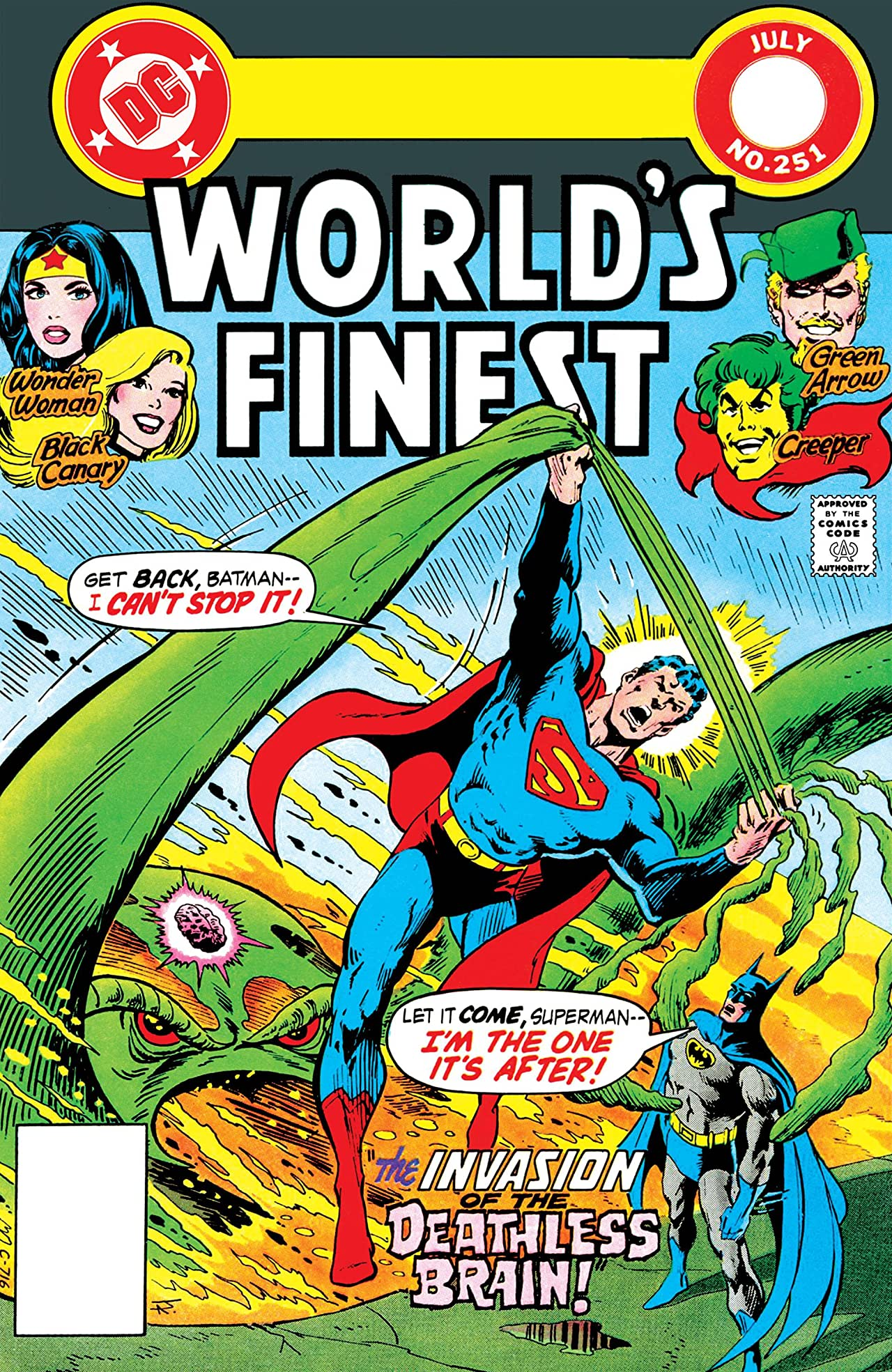 World's Finest Comics (1941-1986) #251