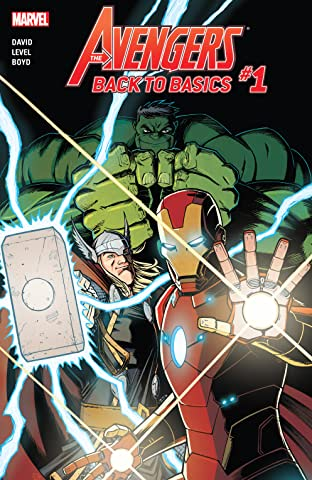 Avengers: Back To Basics (2018) (comiXology Originals) No.1 (sur 6)