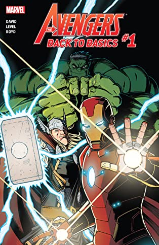 Avengers: Back To Basics (2018) (comiXology Originals) #1 (of 6)