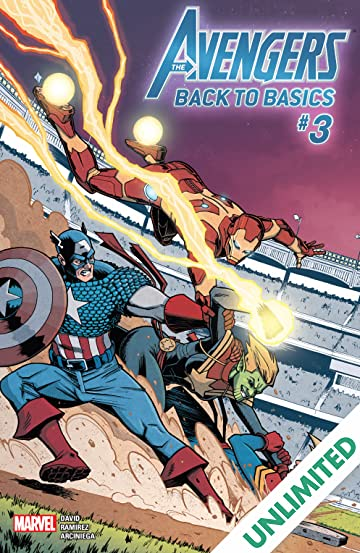 Avengers: Back To Basics (2018) (comiXology Originals) #3 (of 6)