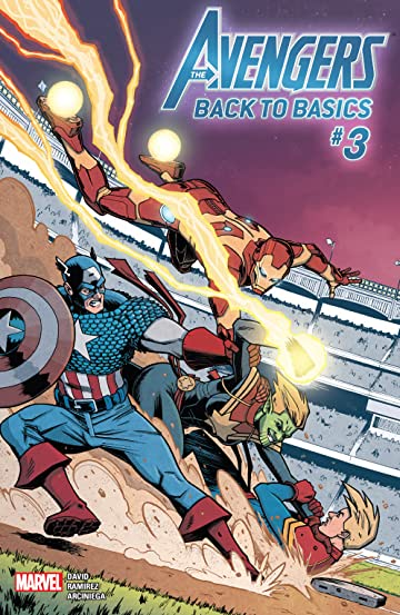 Avengers: Back To Basics (2018) No.3 (sur 6)
