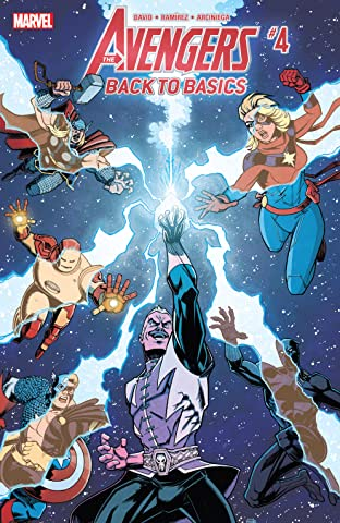 Avengers: Back To Basics (2018) #4 (of 6)