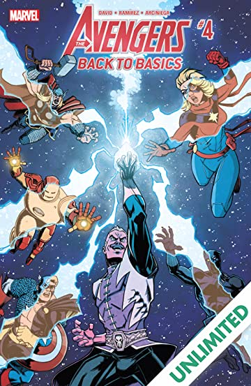 Avengers: Back To Basics (2018) (comiXology Originals) #4 (of 6)