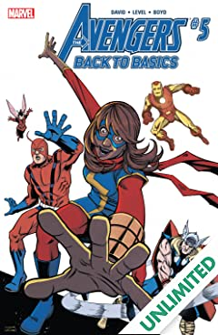 Avengers: Back To Basics (2018) (comiXology Originals) #5 (of 6)