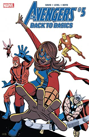 Avengers: Back To Basics (2018) (comiXology Originals) No.5 (sur 6)