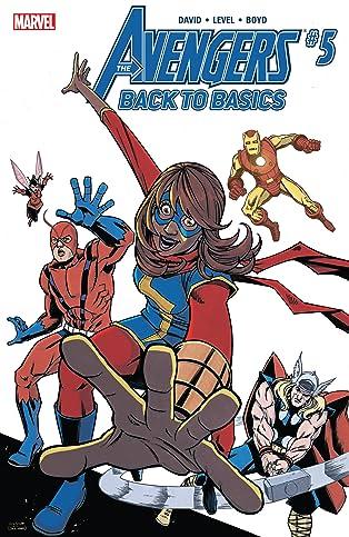 Avengers: Back To Basics (2018) (comiXology Originals) #5 (of 6)