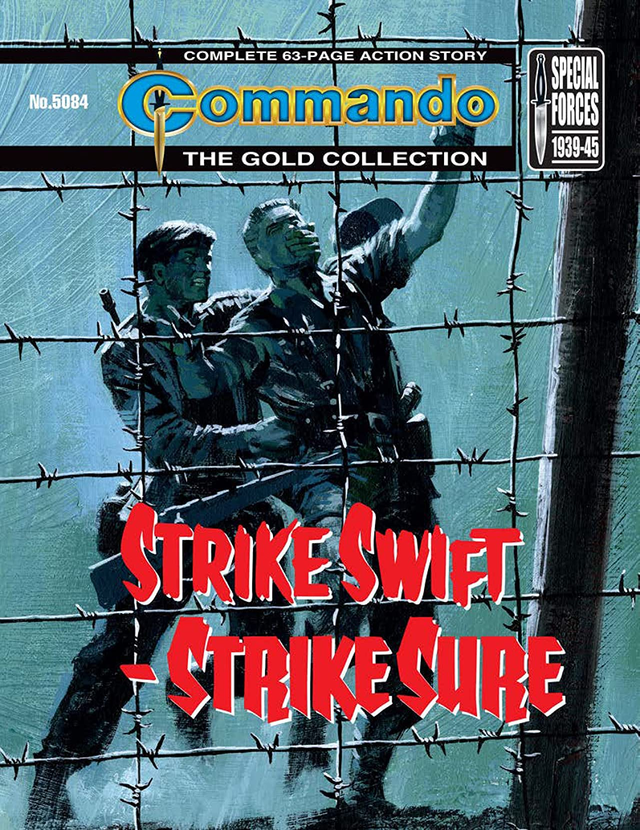 Commando #5084: Strike Swift - Strike Sure