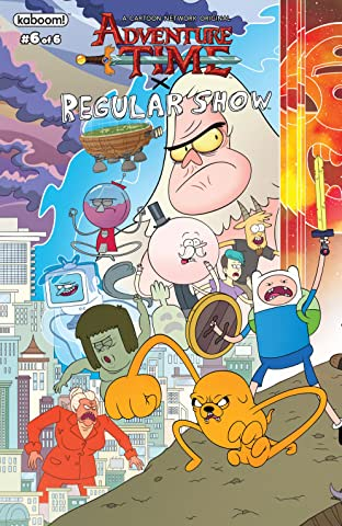 Adventure Time/Regular Show No.6