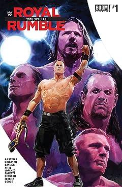 WWE Royal Rumble 2018 Special No.1
