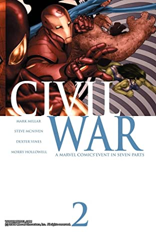Civil War No.2 (sur 7)