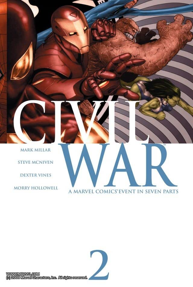 Civil War #2 (of 7)