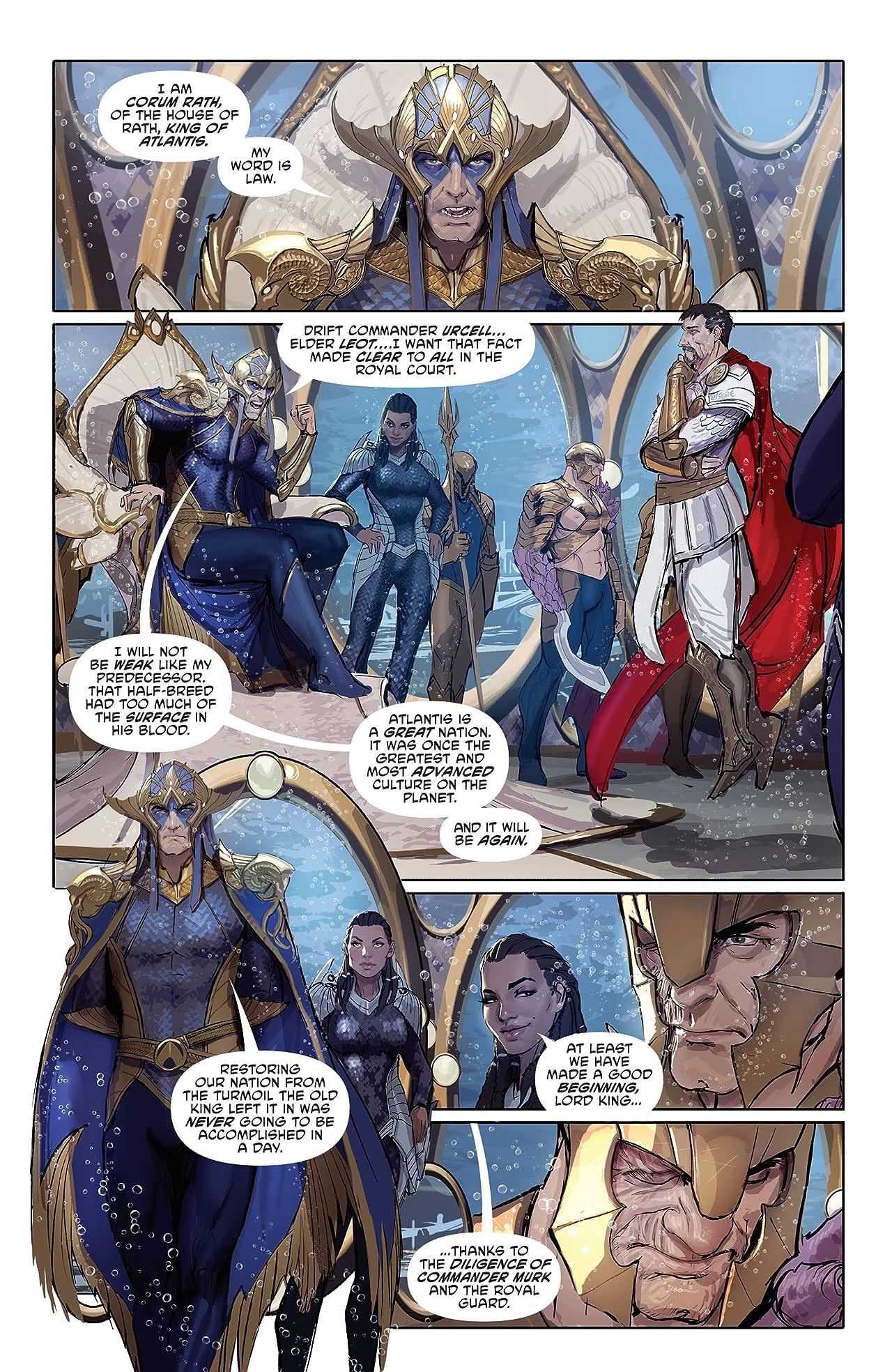 Aquaman (2016-) Tome 4: Underworld Part 1