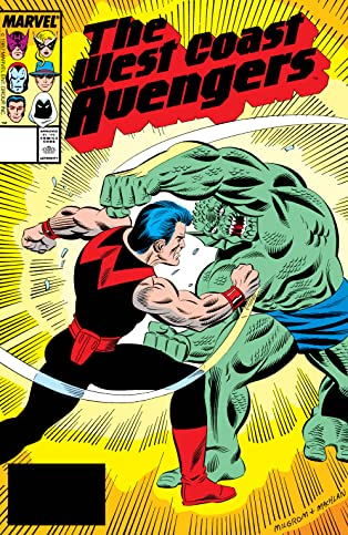 Avengers West Coast (1985-1994) #25