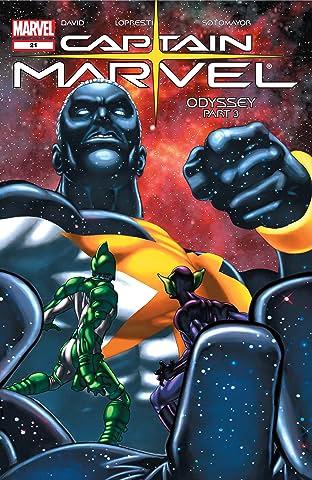 Captain Marvel (2002-2004) #21