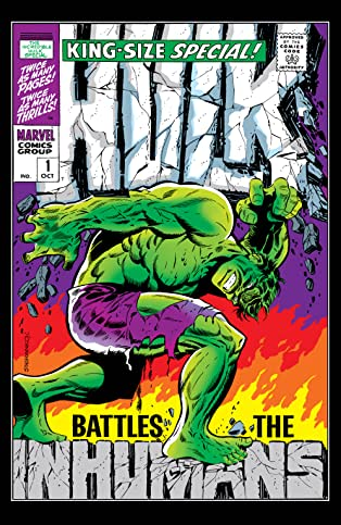 Incredible Hulk (1962-1999) Annual #1
