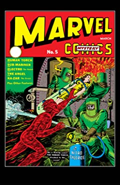 Marvel Mystery Comics (1939-1949) #5