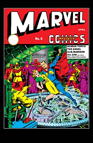 Marvel Mystery Comics (1939-1949) #6