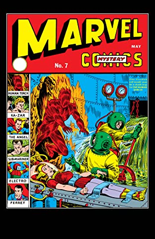 Marvel Mystery Comics (1939-1949) #7