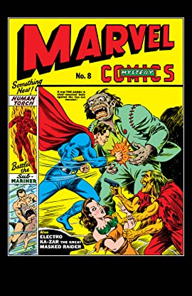 Marvel Mystery Comics (1939-1949) #8