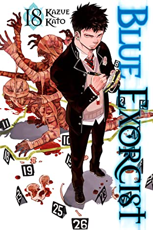 Blue Exorcist Vol. 18