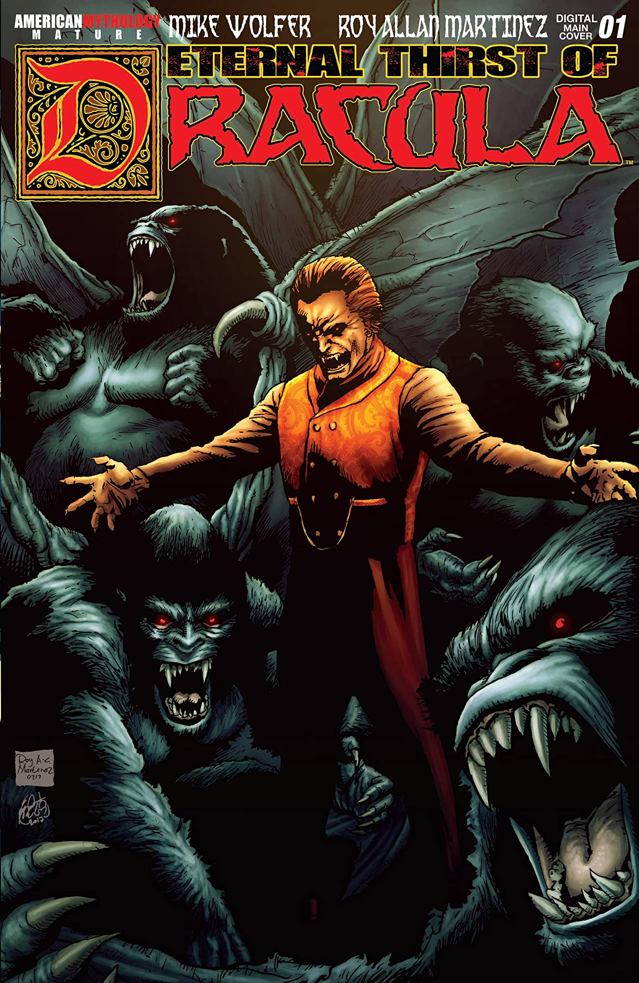 The Eternal Thirst of Dracula #1