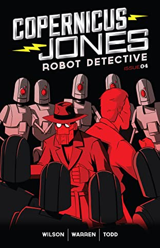 Copernicus Jones: Robot Detective No.4