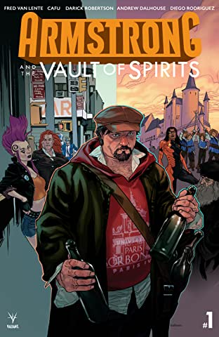 Armstrong and the Vault of Spirits No.1