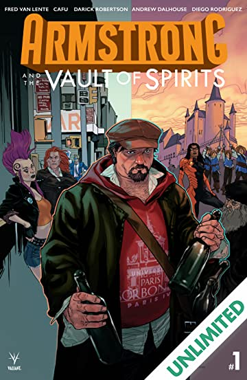 Armstrong and the Vault of Spirits #1