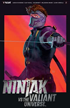 Ninjak Vs. The Valiant Universe No.2
