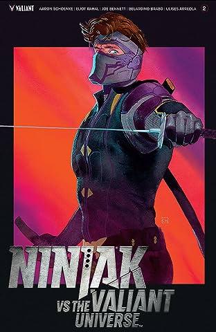 Ninjak Vs. The Valiant Universe No.2