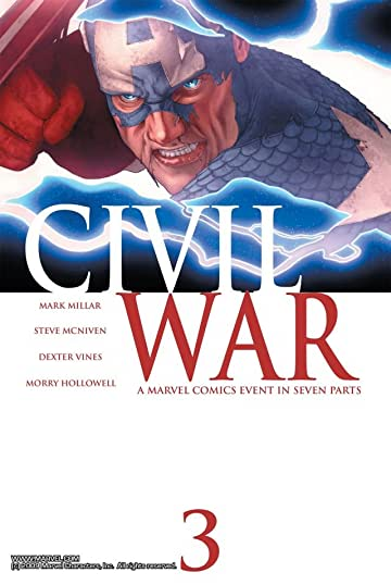 Civil War #3 (of 7)
