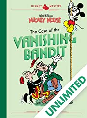 Disney Masters Vol. 3: Walt Disney's Mickey Mouse: The Case of the Vanishing Bandit
