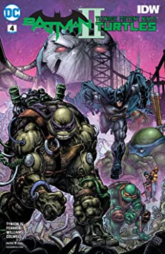 Batman/Teenage Mutant Ninja Turtles II (2017-) No.4